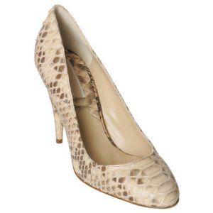 "Michael Kors Collection ""Cairo"" Pumps in natural python"
