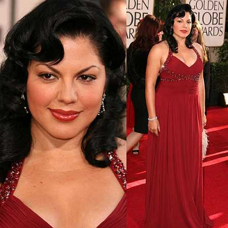 Sara Ramirez at the Golden Globes