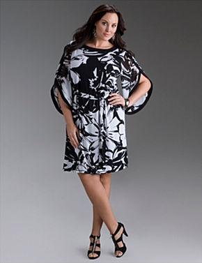 t shaped drama dress