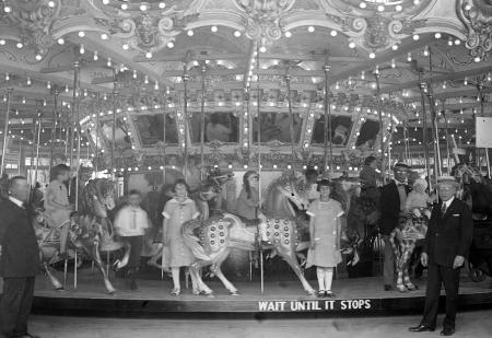 Glen Echo Carousel in the 1920s