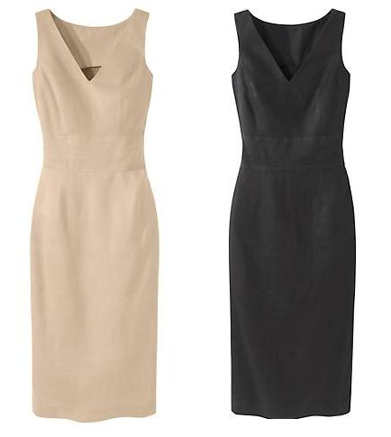Linen Sheath Dresses