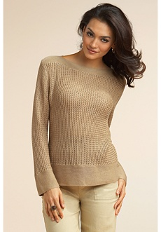 silk linen sweater