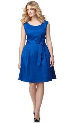 Macy's calvin klein sapphire dress