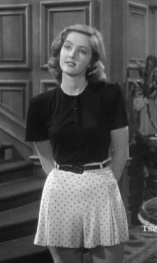 Martha Vickers as Carmen in The Big Sleep