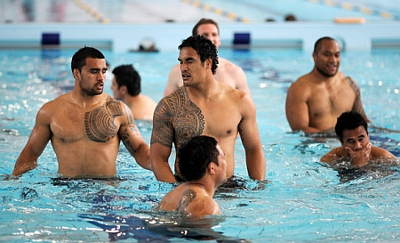 All Blacks in the pool
