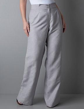 LB Linen Stripe Trouser