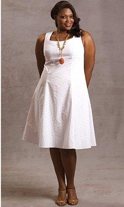 Летнее ситцевое платье